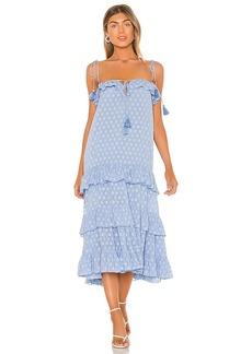 Karina Grimaldi Lori Midi Dress