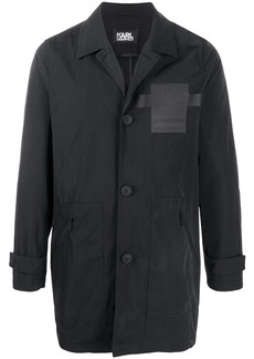 Karl Lagerfeld 21 Rue St Guillaume car coat