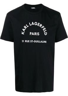Karl Lagerfeld 3D logo print T-shirt