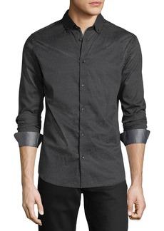 Karl Lagerfeld Abstract-Pattern Sport Shirt