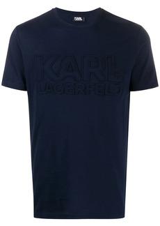 Karl Lagerfeld block logo T-shirt