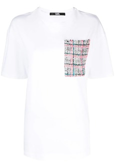 Karl Lagerfeld Boucle pocket T-shirt
