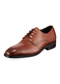 Karl Lagerfeld Burnished Leather Oxford