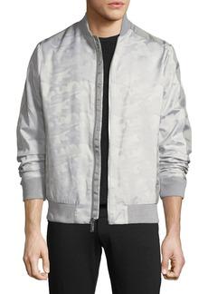 Karl Lagerfeld Camo Jacquard Bomber Jacket