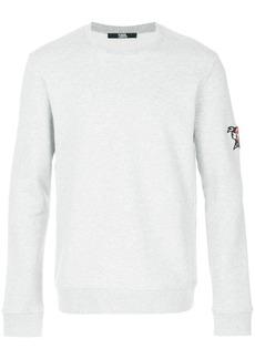 Karl Lagerfeld Captain Karl patch sweatshirt