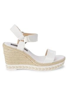 Karl Lagerfeld Cascada Espadrille Wedge Sandals