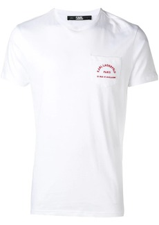 Karl Lagerfeld chest pocket T-Shirt