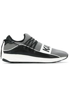 Karl Lagerfeld contrast logo sneakers