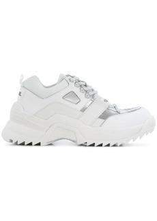 Karl Lagerfeld contrast low-top sneakers