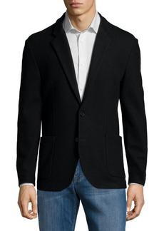 Karl Lagerfeld Cotton Blazer Jacket