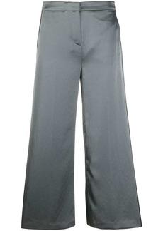 Karl Lagerfeld cropped wide-leg trousers
