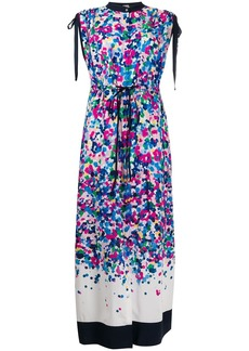 Karl Lagerfeld degrade printed maxi dress