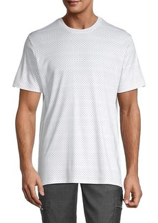 Karl Lagerfeld Dotted Cotton Tee