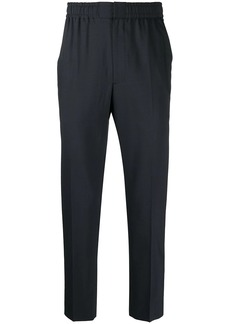 Karl Lagerfeld elasticated tailored trousers