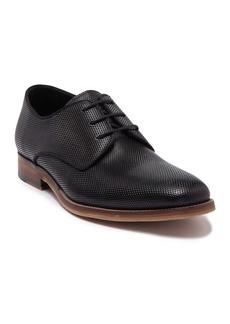 Karl Lagerfeld Embossed Leather Plain Toe Derby