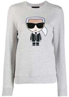 Karl Lagerfeld embroidered Karl sweatshirt