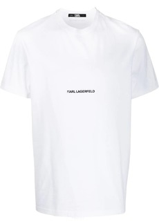 Karl Lagerfeld Essential embroidered T-Shirt