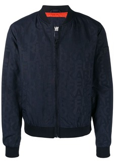 Karl Lagerfeld fitted logo jacket