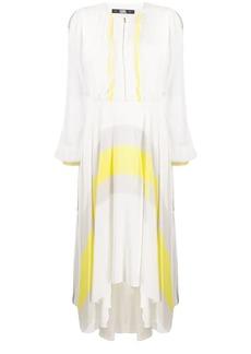 Karl Lagerfeld flared circle print dress