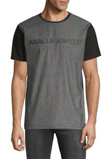 Karl Lagerfeld Foil Logo Tee