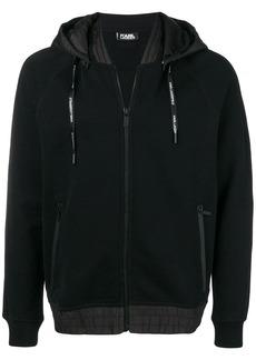 Karl Lagerfeld front zip hoodie