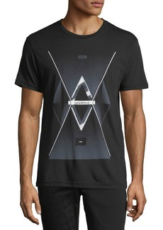 Karl Lagerfeld Future Logo Graphic Tee