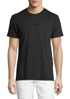 Karl Lagerfeld Gloss Logo-Print Crewneck Tee