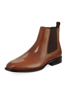 Karl Lagerfeld Gored Leather Chelsea Boot