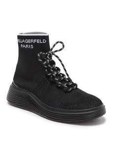 Karl Lagerfeld High Top Knit Sneaker