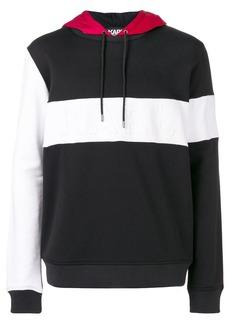 Karl Lagerfeld hooded logo sweatshirt