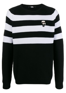 Karl Lagerfeld Ikonic striped sweater