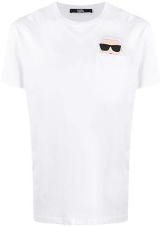 Karl Lagerfeld Ikonik Karl logo print T-shirt