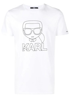 Karl Lagerfeld Ikonik Karl Outline T-Shirt