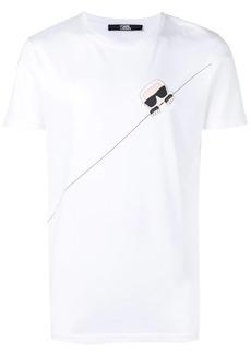 Karl Lagerfeld Ikonik Karl Seam T-Shirt