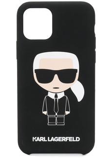Karl Lagerfeld Ikonik logo print iPhone 11 Pro case