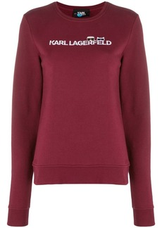 Karl Lagerfeld Ikonik logo sweatshirt
