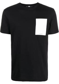 Karl Lagerfeld Ikonik pocket T-shirt