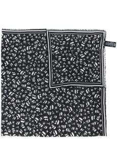 Karl Lagerfeld Ikonik satin scarf