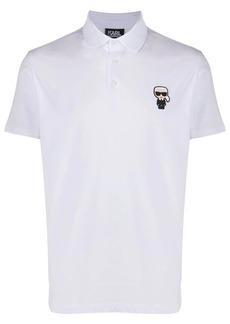 Karl Lagerfeld Ikonik short-sleeved polo shirt