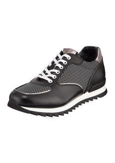 Karl Lagerfeld Men's Jogger Mesh-Trim Sneakers