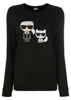 Karl Lagerfeld Karl & Choupette Ikonik Sweatshirt