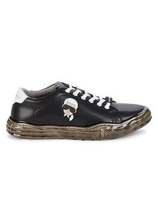 Karl Lagerfeld Karl Head Dipped Sole Sneakers