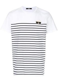 Karl Lagerfeld Karl Ikonik striped T-shirt
