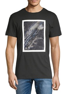 Karl Lagerfeld Abstract Frame Tee