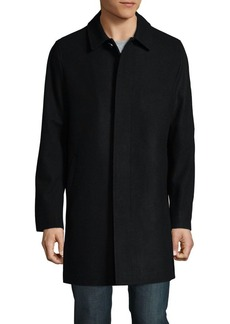 Karl Lagerfeld Button-Through Coat