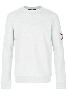 Karl Lagerfeld Captain Karl patch sweatshirt - Grey