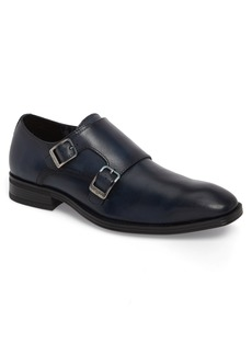 Karl Lagerfeld Double Strap Monk Shoe (Men)