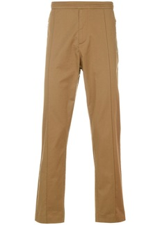 Karl Lagerfeld fitted chino trousers - Brown