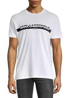 Karl Lagerfeld Graphic Short-Sleeve Cotton Tee