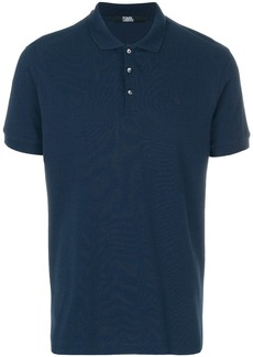 Karl Lagerfeld Karl head logo polo - Blue